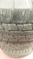 Dodge alloy wheels and 31x10.5x15  Michelin tires LIKE NEW Kitchener / Waterloo Kitchener Area Preview