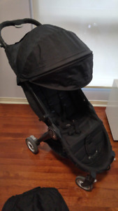 Baby Jogger City Tour Onyx Stroller and Carry On Bag