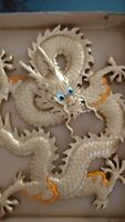 Chinese Golden Wooden Dragon