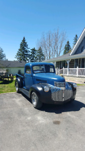 Looking for 1936 to 1946 pickup trucks