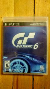 JEU PS3 (PLAYSTATION 3): GRAN TURISMO 6