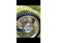 Ktm 85sx small wheels