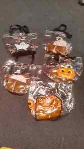 5x Old Navy plastic Hallowe'en candy bags