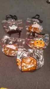 4x Old Navy plastic Hallowe'en candy bags