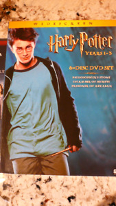 Harry Potter - Years 1 to 3 / 6 DVD Set