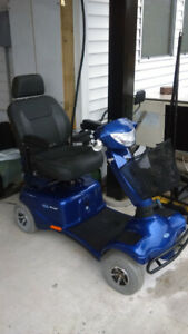 2014 Invacare Scooter - Blue