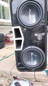 High end sound system