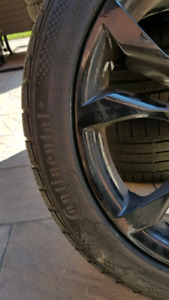 Audi rims and tires 245/40/18