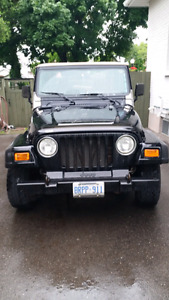 2000 Jeep TJ Coupe (2 door)