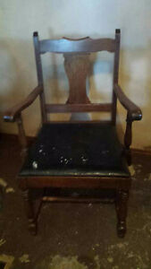 Vintage Captains Chair - all original ready for restoration London Ontario image 1