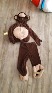 Old navy monkey halloween costume 4t