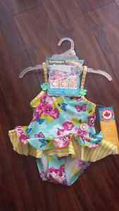 baby girl bathing suits 18 months NEW/ swimsuit