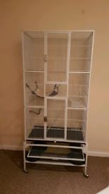 Parrot/rat cage