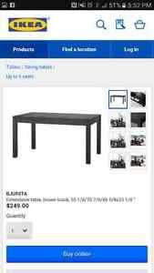 IKEA Dining table and 6 chairs Windsor Region Ontario image 7
