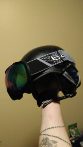 New k2 helmet and bolle  goggles