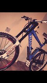 Stunning Kona coiler, downhill bike, jump bike