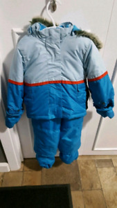 4 piece snowsuit