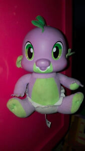 I think he is the baby dragon from my little ponies?