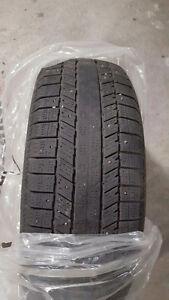 15R - 4 winter tires -studded.used 1 season