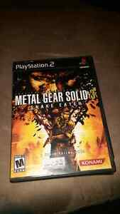 Ps2 metal gear solid 3 for sale  Cambridge Kitchener Area image 2