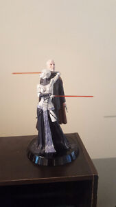 Count dooku + Asajj Ventress Sideshow statue used