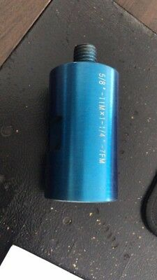 Core Drill Bit Adapter 58-11 Threaded Male To 1-14 - 7 Female