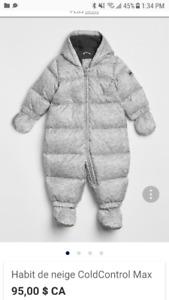 Habit de neige bébé 0-6 mois