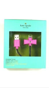 NEW Kate Spade microUSB charger