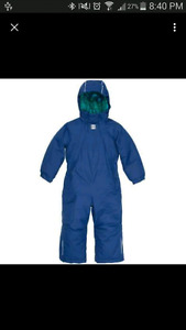 MEC 1pc snowsuit size 4