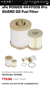 aFe ford 6.0L Diesel 03-07 oil and fuel filter
