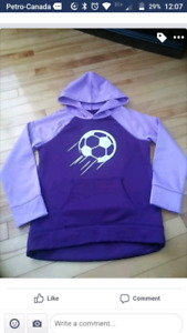 Justice Soccer sweater