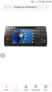 Bmw e46 xtrons aftermarket radio brand new in the box