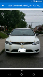 2008 honda civic coupe dxg