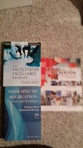Recreation and Leisure Text Books For Sale