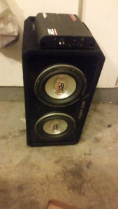 Mtx amp and subs
