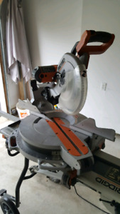 Ridgid 12in Duel Bevel Sliding Miter Saw