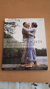 Aging and Society: Canadian Perspectives by Mark Novac et al