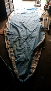 15' boat cover