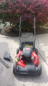 YARD MACHINE SELF PROPELLED LAWNMOWER