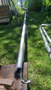 Aluminum sailboat mast and boom -- Orillia