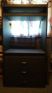 Dresser/ shelving unit