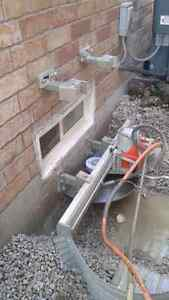 Windows and doors cutting and installation, concrete cutting