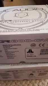 """JL audio ZR800CW 8"""" midbass woofers BRAND NEW IN BOX HIGH END SQ"""