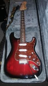 Guitare FENDER Squier stratocaster standard Sunburst Mint !