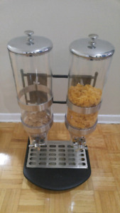 Solid heavy Professional Cereal dispenser