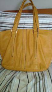 Mustard color purse
