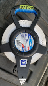 MASTERCRAFT 200 FOOT REEL UP TAPE MEASURE IN EXCELLENT CONDITION
