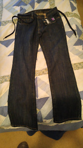 West 49 slim straight fit jeans