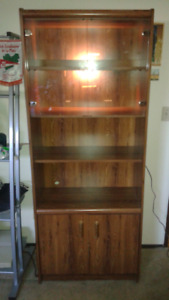 China cabinet with backlight