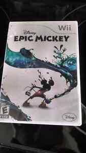 Wii Epic Mickey Game